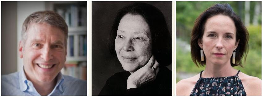 Photos of Benjamin Taylor, Grace Schulman, Meghan O'Rourke