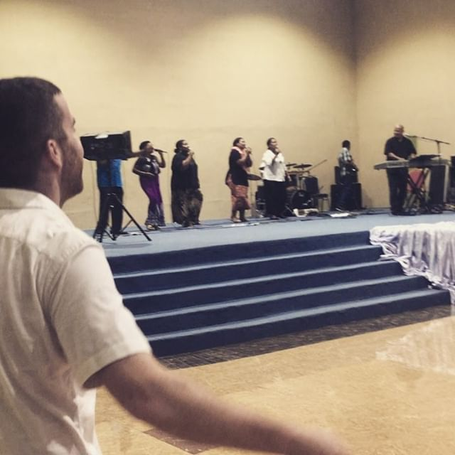 A taste of the revival and youth meeting.  @pioneerministry #Jesuslovesfiji
