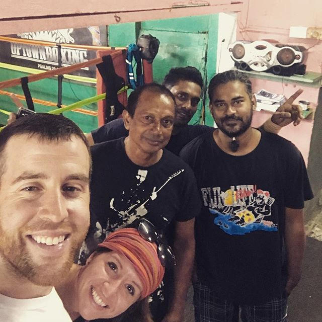 We were walking with the ministry team and Dan wanted to stop at the boxing gym that we were passing.  We stopped in and all these men and 3 others all got healed.  Shoulders, arms, chest, knee, and neck.  The whole gym got healed and they started bringing others in from outside.  Not one person that was there did not receive their healing.  Praise God!!! @pioneerministry #JesusLovesFiji