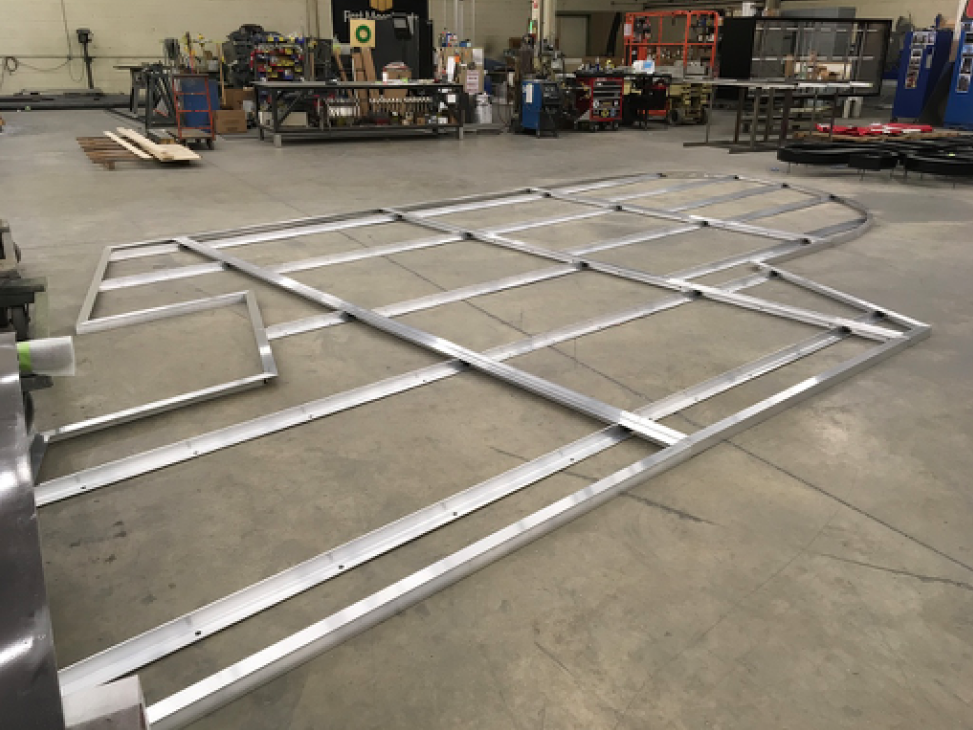 Fabrication of Purdue University Signage 2.26.18
