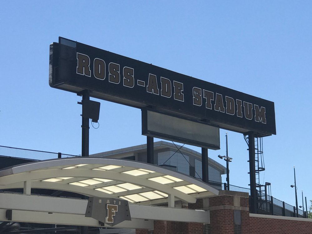 BEFORE - Update Purdue's brand elements to increase impact upon fan arrival at the front gate.