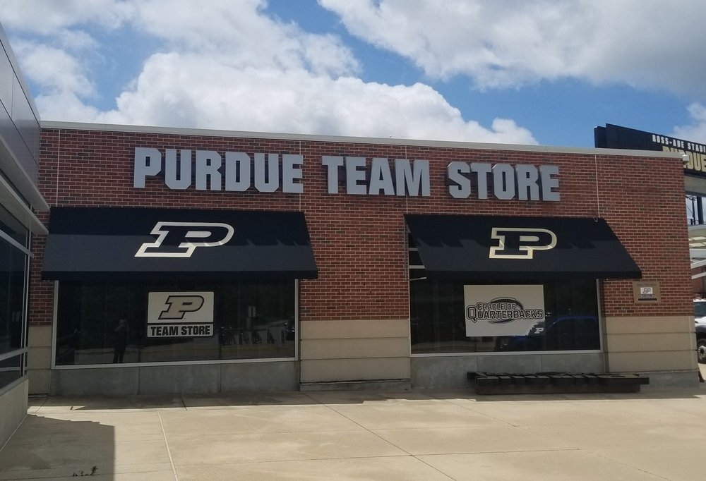 AFTER - Awnings added with the Purdue