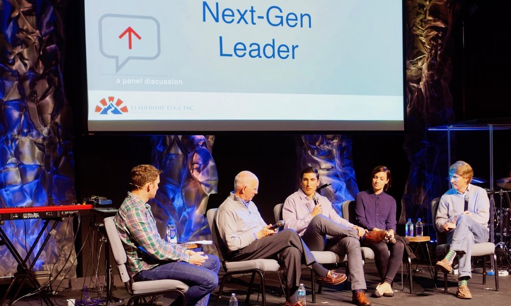 "March 2017, SF bay area panel discussion ""Mentoring Next Gen Leaders"""