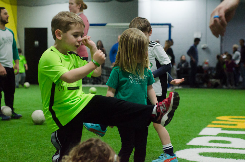 Learning + Growing Through Soccer -