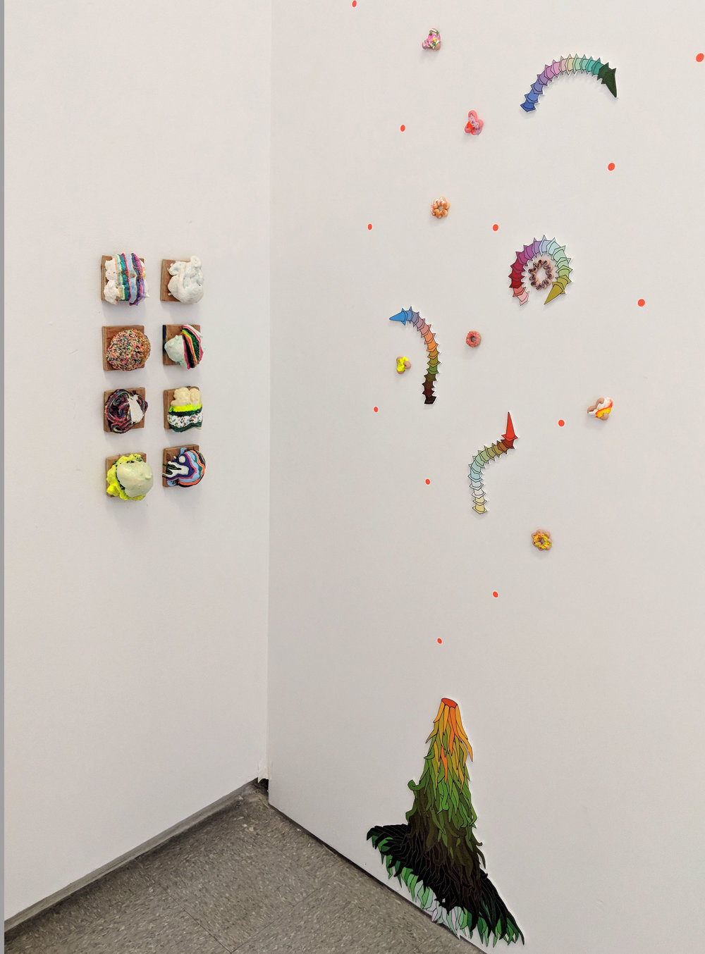 Art Waste; Honour, installation view at Red Gate Arts Society, 2018.