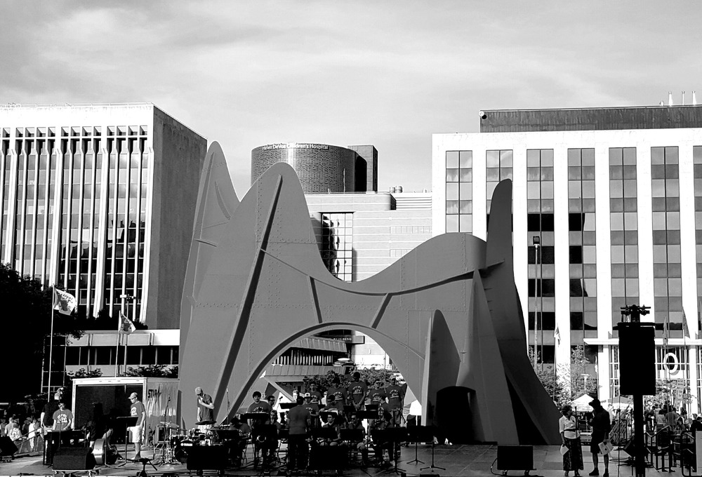 For over 30 years, the Calder Plaza has been host to the Grand Rapids Festival of the Arts. It is one of the largest all-volunteer festivals in the world.