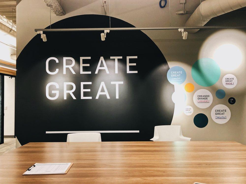 Create great wall.