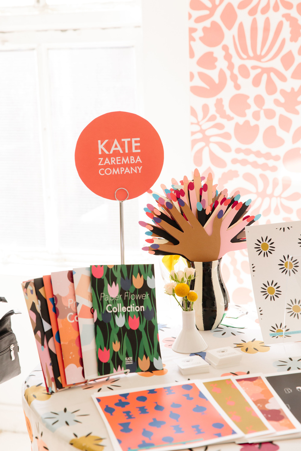 A fun, bright and charming display from Kate Zaremba - like Kate herself !