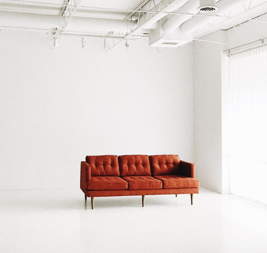 Orange Sofa   Price: