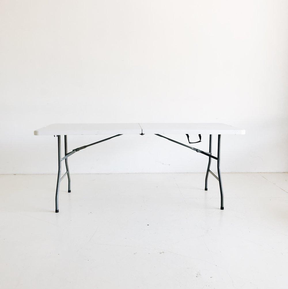 (3) Plastic Fold Tables   Price: