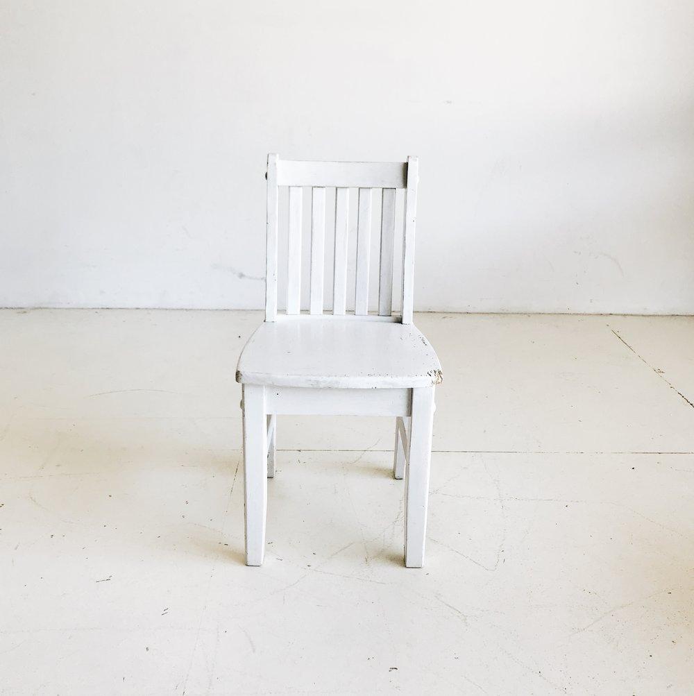 White Toddler Chair   Price: