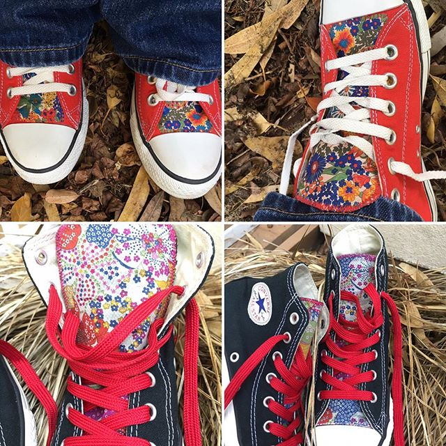 Converse and Liberty of London - great combination 😄