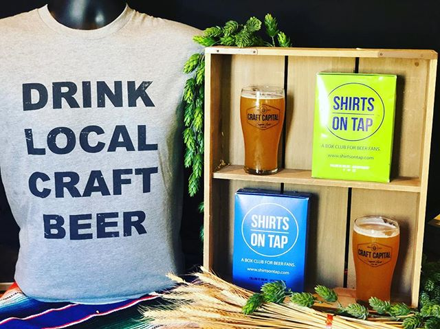 Monday SPECIAL || Sign up for Shirts on Tap with code MONDAY and get 2 pint glasses and a Drink Local tee for free. No fine print required. Promo expires at midnight tonight!