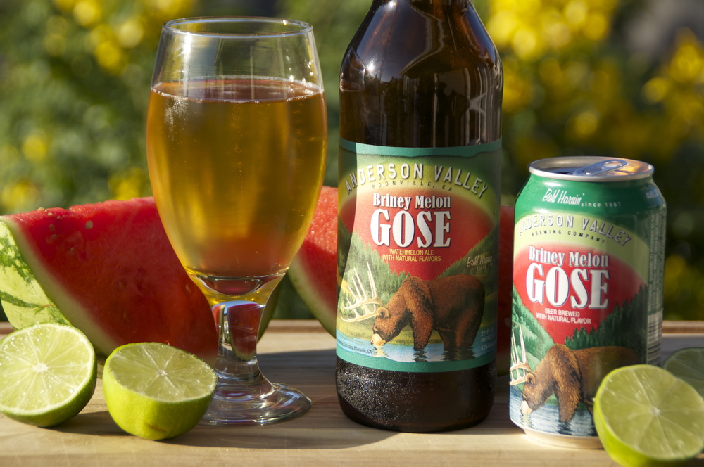 Anderson Valley Brewing Company's Briney Melon Gose