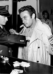Lenny Bruce Is Booked After Being Arrested At The Jazz Workshop In North Beach, San Francisco
