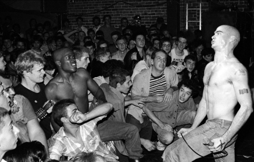 Henry Rollins Of Black Flag Gets Weird At The Mabuhay Gardens, 1981 (photo courtesy henryrollins-org.tumblr.com)