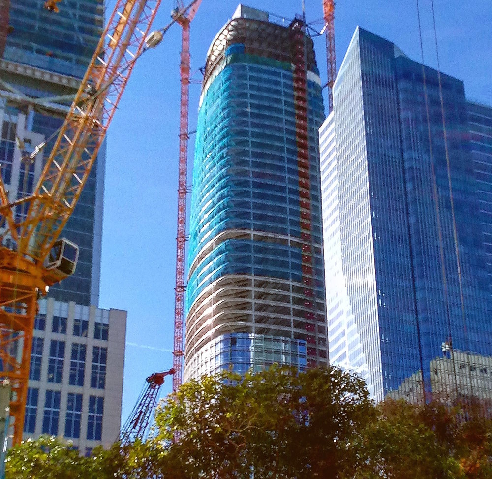 The Salesforce Tower Nears Completion South of Market