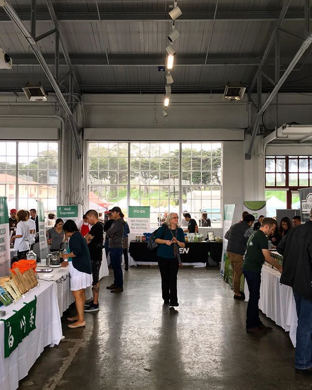 We had an amazing time at the SF International Tea Festival today! Thanks for stopping by, we loved every bit of it! ❤️☕️ . . . #sanfrancisco #teafestival #tea #sf #chai #startup #foodstartup #events #popupshop #popup #fortmason