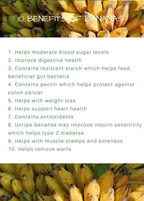 10 Benefits of Bananas