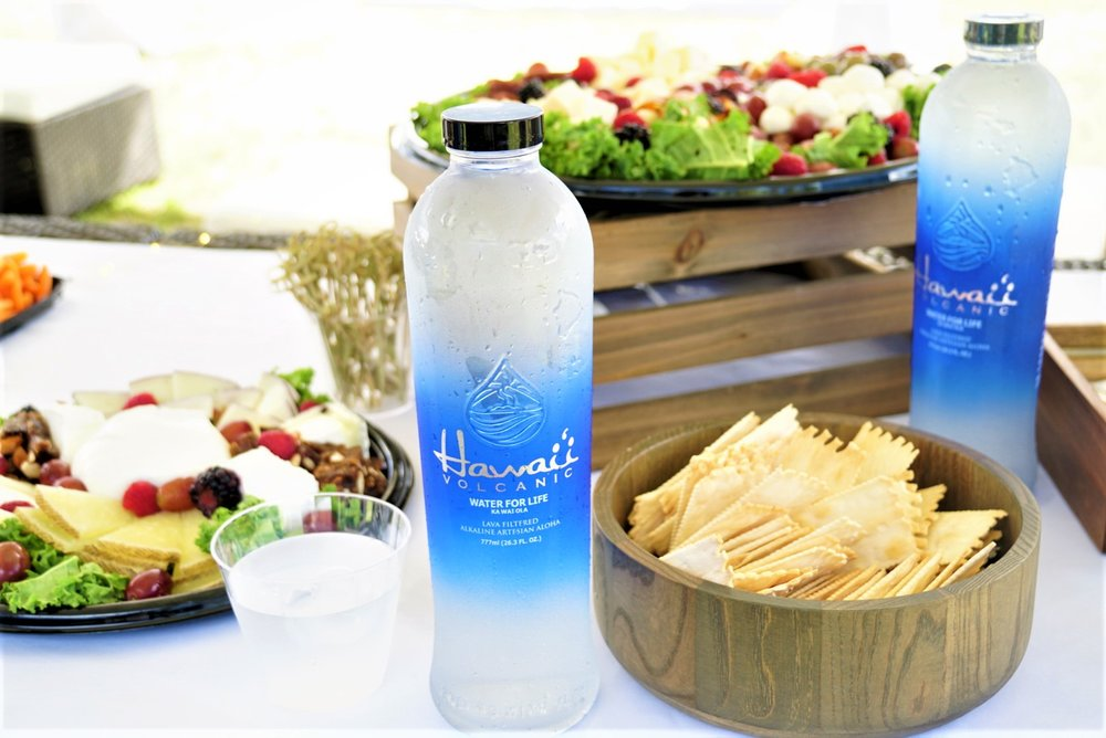 Hawaii Volcanic Water Promo