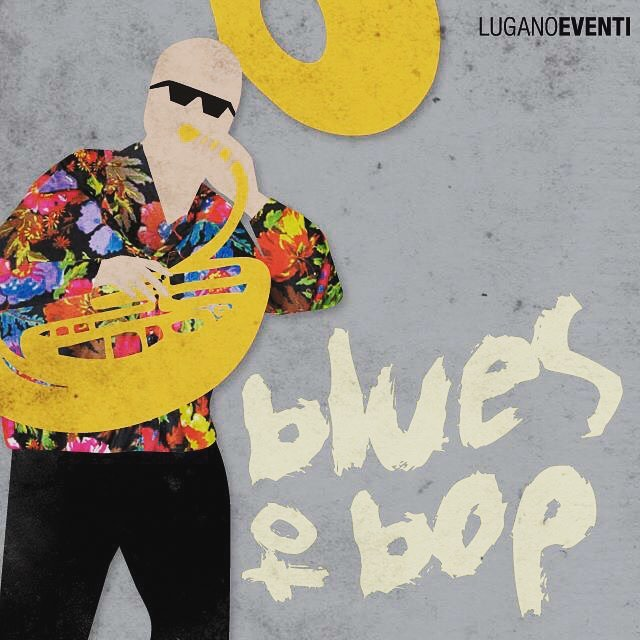 Brand new Blues to Bop 2017 artwork... reminds you someone?!? :-)