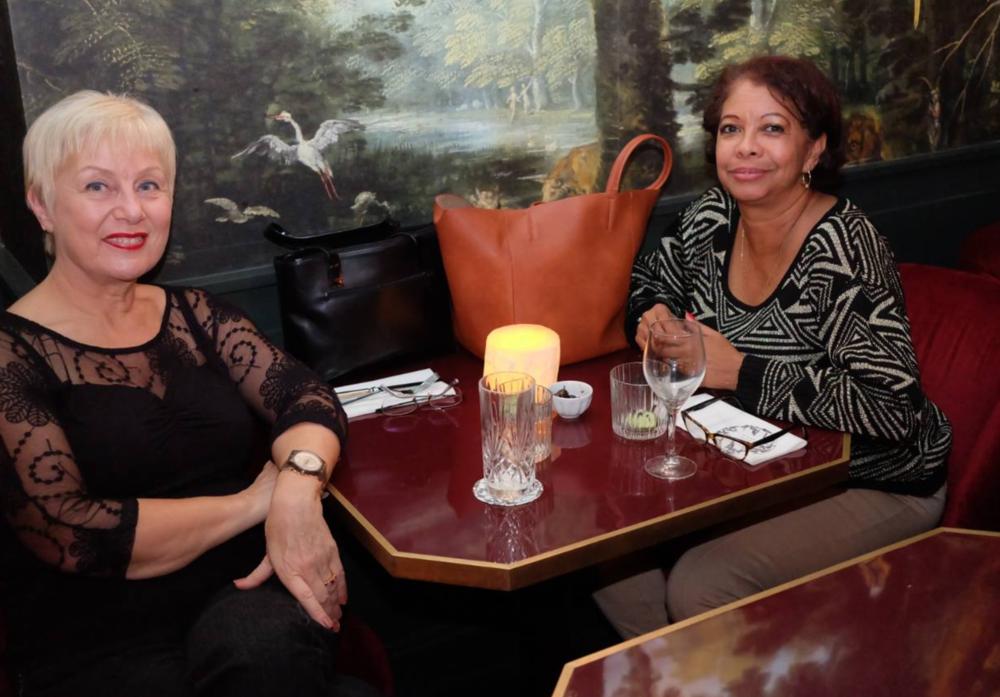 Carmen et Evelyne au rendez vous de la fondation Padilla.