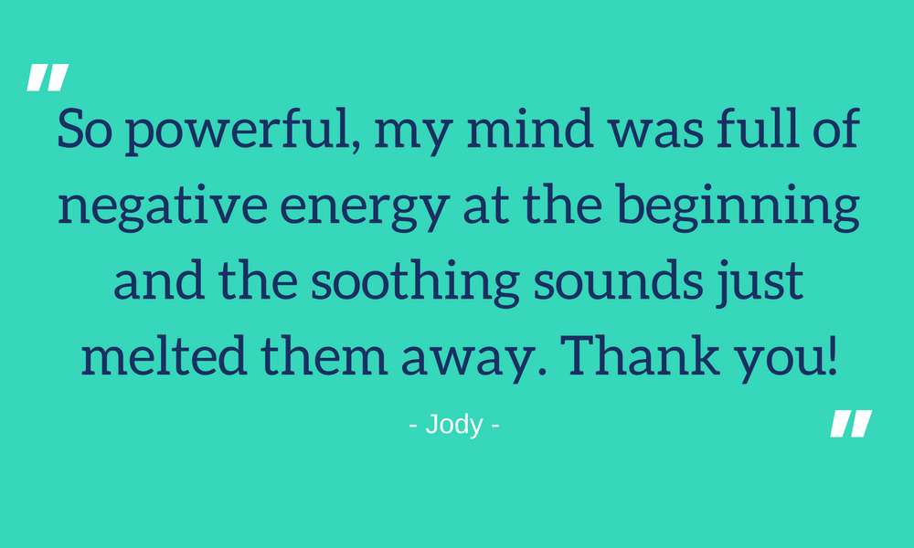 Soulful Soundwaves Client Testimonial