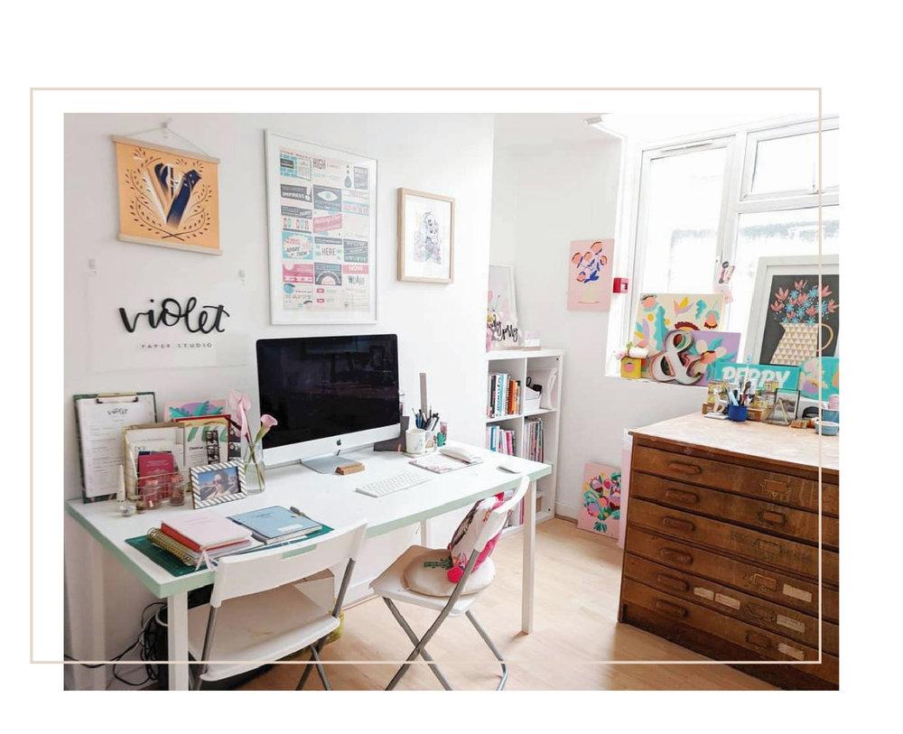My little studio space