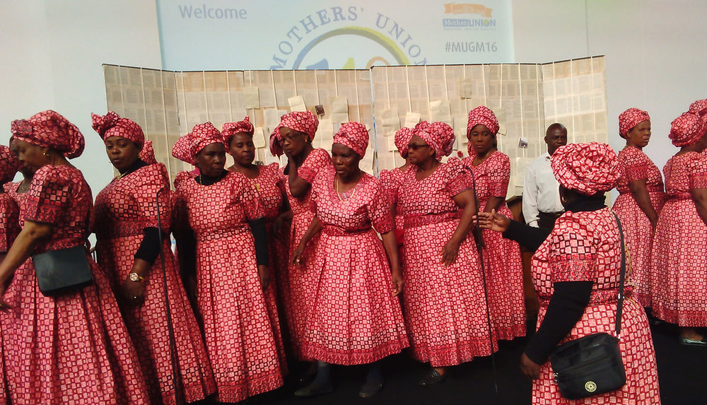 The Mary Sumner choir from Zambia