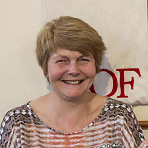 Sue Morris, Churchwarden