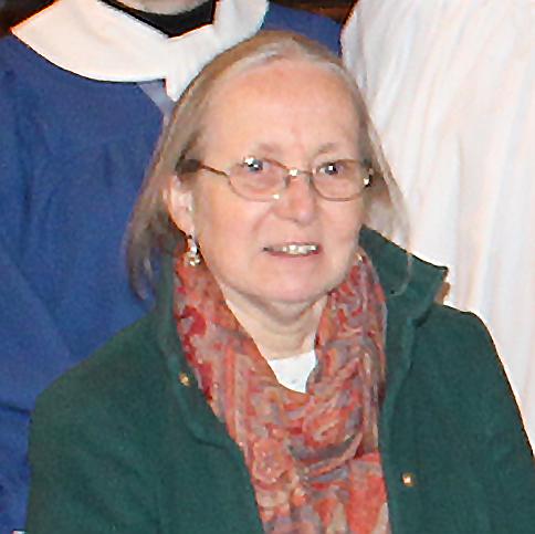 Verger Liz Lewis