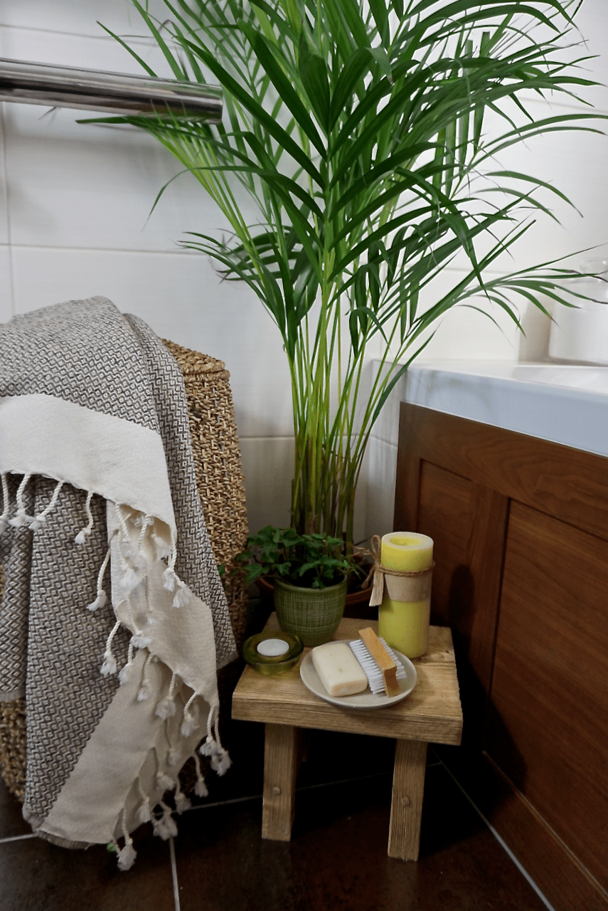 Turkish towel review bathroom