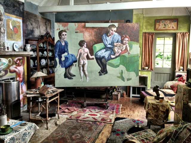 Life In Squares- Interior - painting.JPG