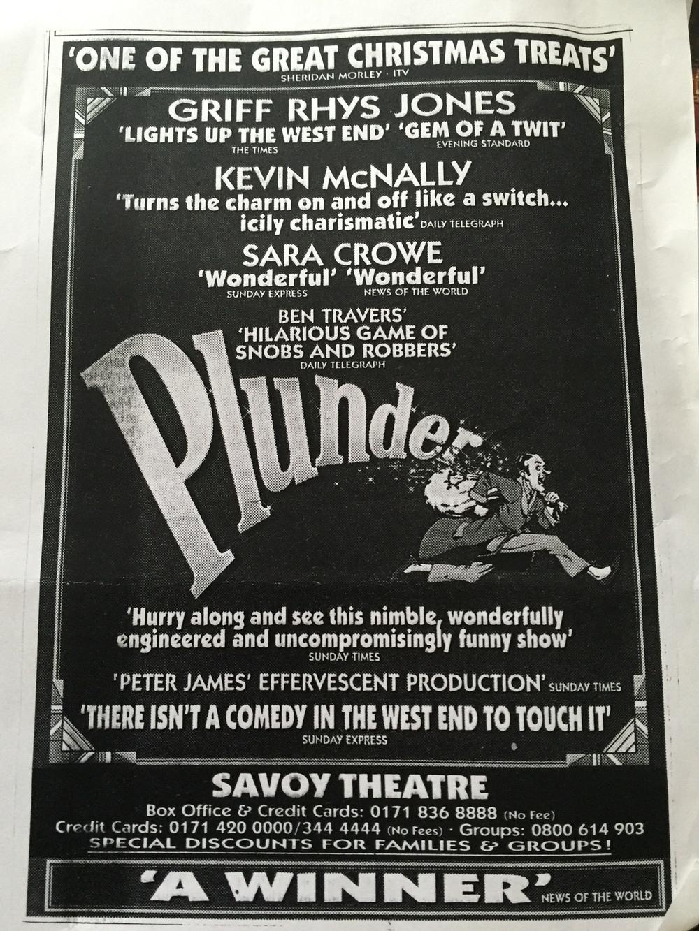 Original poster for Plunder - set design - David Roger.jpg