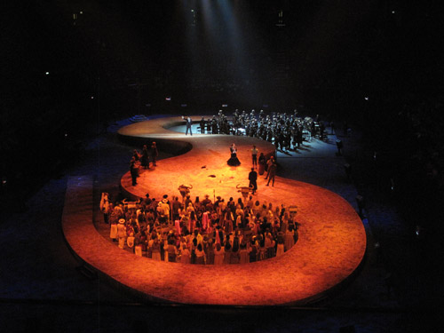 CARMEN - royal albert hall - O2 Arena - set production design - David Roger.jpg