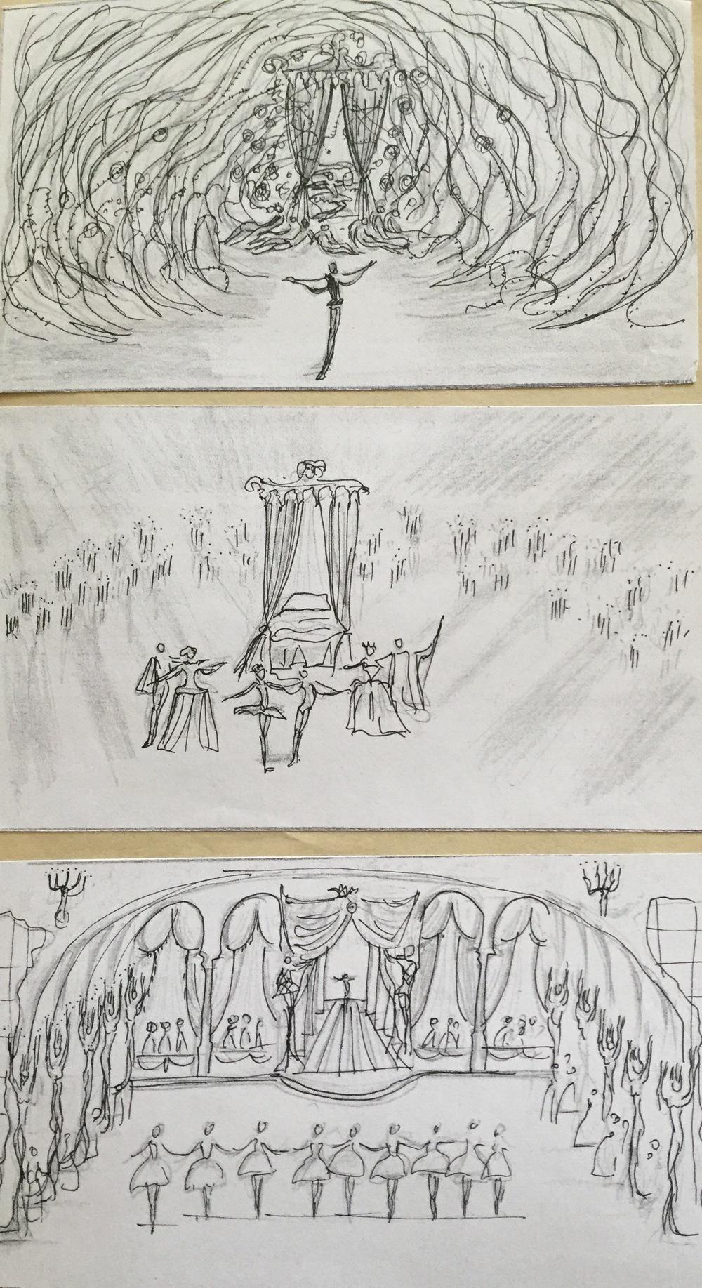 Sleeping Beauty ballet - producction design - David Roger 10.jpg