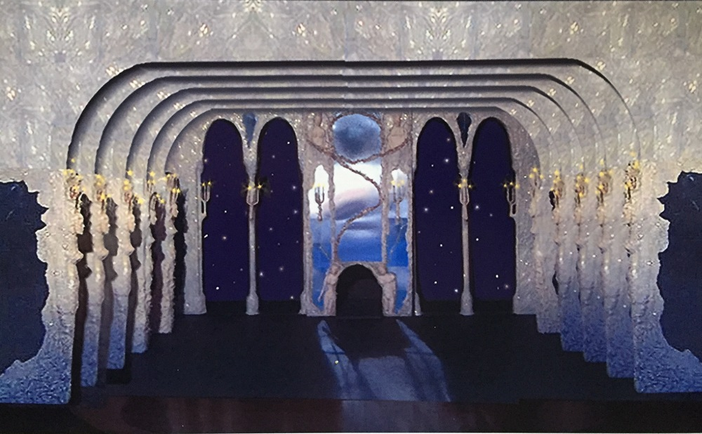 Sleeping Beauty ballet - producction design - model - David Roger. 2.jpg