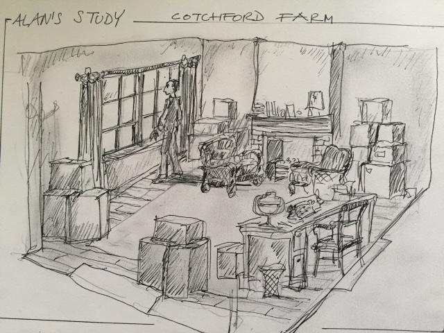 AA Milne sketch Fox Searchlight