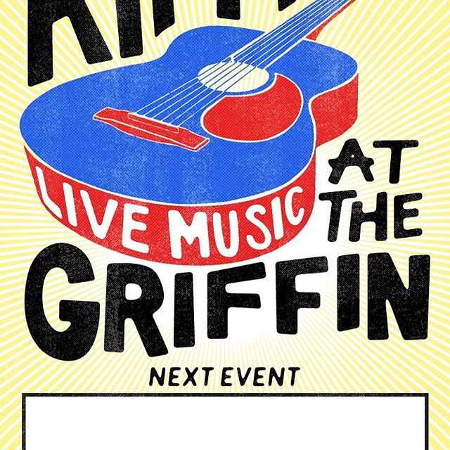 Live music is coming back to the Griffin Inn.  Pop down this Friday. Music start at around 8pm.