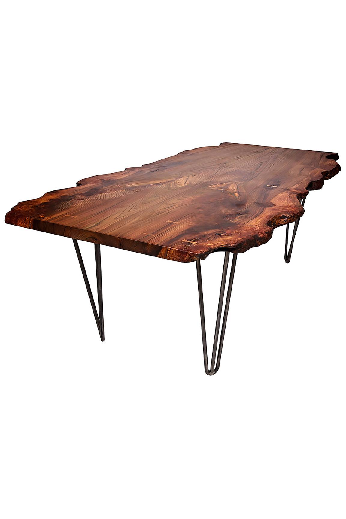 Ollie Oak Coffee Table on Hairpin Legs — Paul Frampton