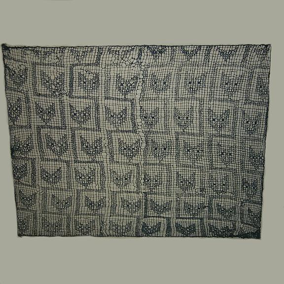 Chancay Fox Head Gauze Textile