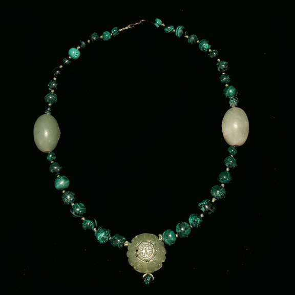 C007 Malachite Necklace