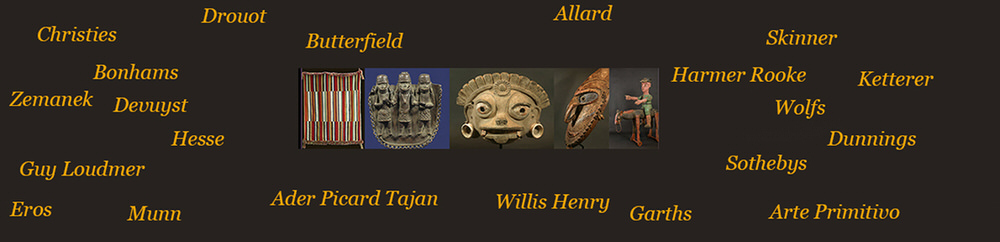 Art Track African and tribal Auction Database - the largest searchable database of tribal art objects sold at auction between 1980 and the present