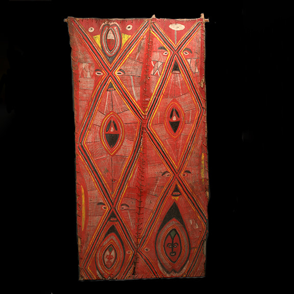 Abelam Painted Interior House Panel