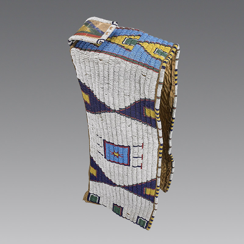 Sioux Beaded Baby Carrier, c. 1880