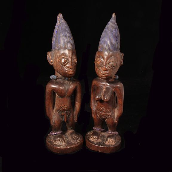 0001 Yoruba Ibeji pair