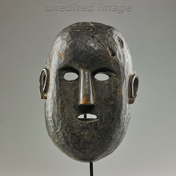 Lot 221. Allen Stone Auction. October 19, 2018  HIMALAYAN MASK, NEPAL OR TIBET   Estimate:  $400 - $600