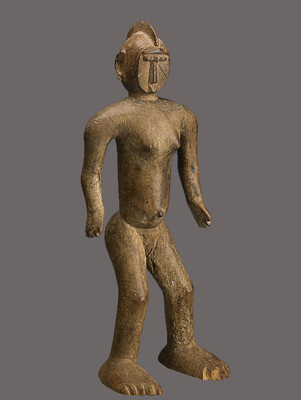 Lot 246. Allen Stone Auction. October 19, 2018  MOSSI, FEMALE FIGURE, BURKINA FASO   Estimate:  $3,000 - $5,000