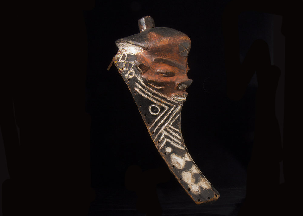 Pende mask, Democratic Republic of the Congo, Early 20th century