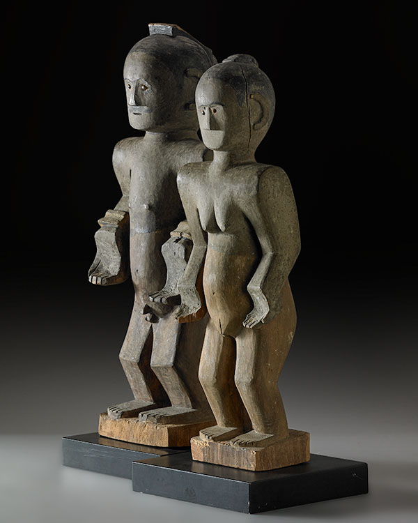 Flores Island couple, late 19th/early 20th century, Published Eloquent Dead